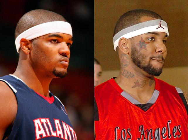 Josh Smith : Atlanta Hawks forward  Jayceon Terrell Taylor, aka The Game : Rapper