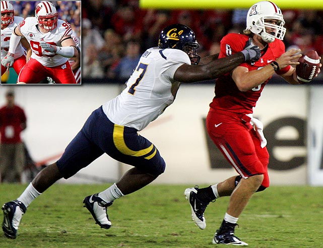Will Pick:   Cameron Jordan , DE, Cal   Should Pick:   J.J. Watt , DE, Wisconsin   The Chargers are still looking for the kind of pass rusher they thought they were getting in 2009 with end Larry English (24 career games, five sacks). At 6-4 and 287 pounds, Jordan is flexible: He played all over the line at the Senior Bowl, and last season he had a combined 18 sacks and tackles for loss. The fact is, San Diego doesn't have a D-lineman whom opposing teams have to game-plan around. Jordan could be that guy.