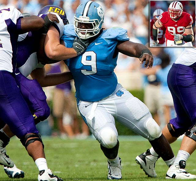Will Pick:   Marvin Austin , DT, North Carolina   Should Pick:   J.J. Watt , DE, Wisconsin   No team wants to trade down more than Seattle, which has seven big holes to fill, including two at guard and one at tackle, and that's before we even get to quarterback. The Seahawks will probably lose Matt Hasselbeck to free agency, but I don't see them taking a passer in the first two rounds unless they trade down. They're willing to go with Charlie Whitehurst and a vet in '11, while Austin, a penetrating DT, fortifies another need position.