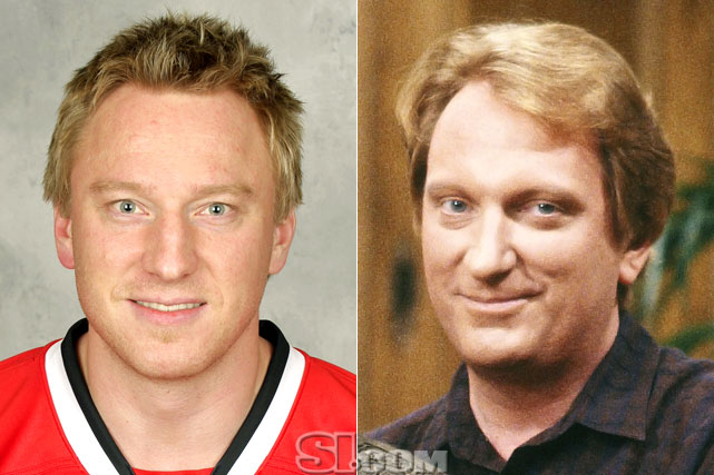 Marian Hossa  - Chicago Blackhawks right wing  Jeffrey Jones  - actor,  Ferris Bueller's Day Off