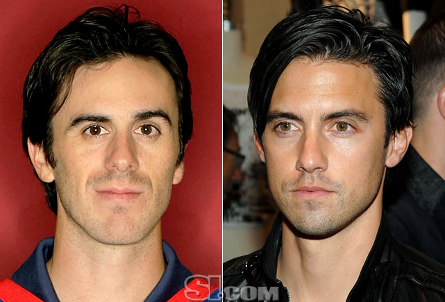 "Ryan Miller  - Buffalo Sabres goalie  Milo Ventimiglia  - actor,  ""Heroes"""