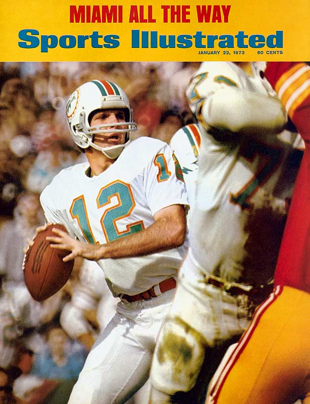 History's most famous champagne-poppers almost didn't get through Week 3 of the 1972 season unblemished. Trailing 14-6 with four-and-a-half minutes remaining against the Vikings, the Dolphins needed two late scores to escape with a narrow 16-14 victory. Despite the unbeaten run, they didn't inspire a lot of respect -- they were still two-point underdogs in Super Bowl VII. Now, whenever the final undefeated team loses for the first time, Mercury Morris & Co. pop the cork to celebrate their place in history.