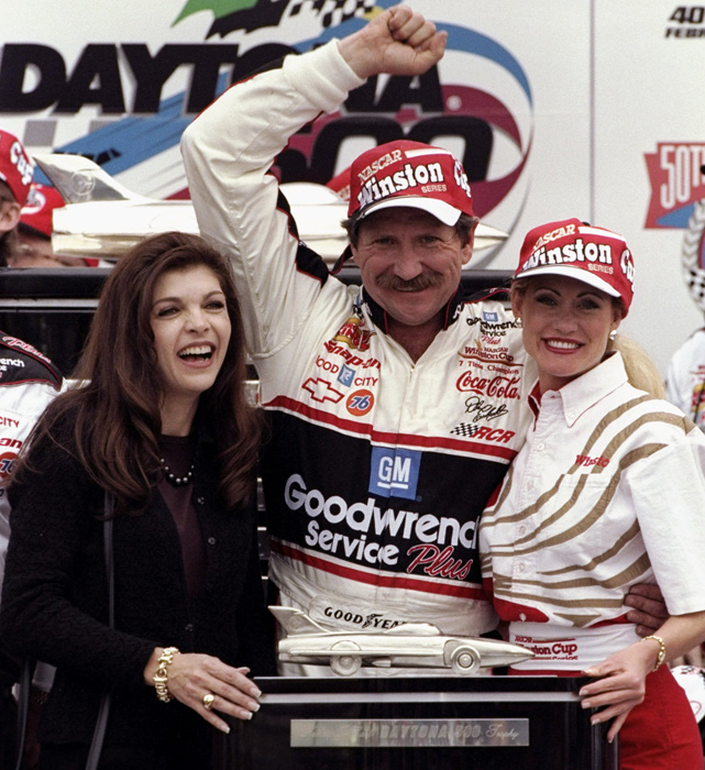 Dale Earnhardt endured two decades of frustrations and tribulations in the Daytona 500, despite dominating nearly every other form of racing at the speedway. When the veteran finally claimed his only Daytona 500 win in 1998, colleagues and competitors lined pit road to congratulate him.