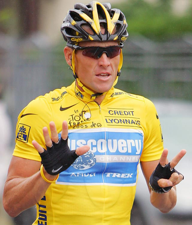 Lance Armstrong competed in the Tour four times in the early-to-mid 1990s, completing it just once (1995 -- 36th). After beating cancer, Armstrong started beating cyclists, too. He won seven straight Tours, two more total than anybody else, with his closest win coming in his fifth consecutive in 2003, when he beat rival Jan Ullrich by 1 minute, 1 second.