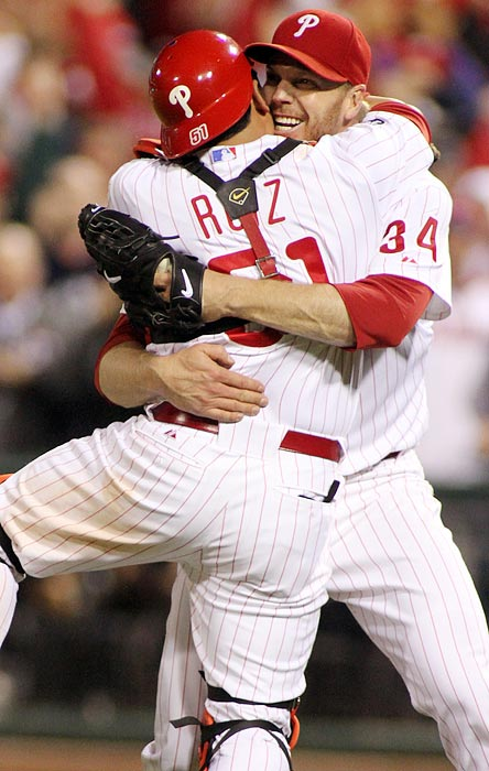 Phillies ace Roy Halladay pitched 12 seasons without making the playoffs, but he made the most of his opportunity by dominating the Reds for the second no-hitter in postseason history. Halladay, who had already thrown a perfect game earlier in the season, walked only one batter in the 2010 contest. He became the first player to record regular and postseason no-hitters during the same year.