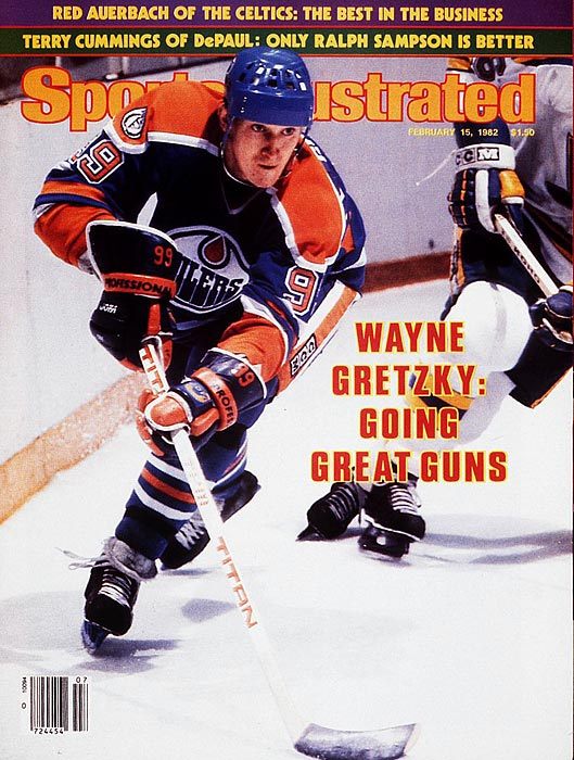 The Great One was primarily a playmaker, but he shocked the hockey world with his 92 goals in 1981-82, crushing Phil Esposito's previous record of 76. Wayne Gretzky got off to a hot start, scoring 50 goals in only 39 games, and notched the record-breaker on Feb. 24, as part of a hat trick against the Sabres.