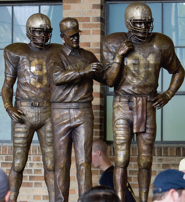 RELATED GALLERY: More college football icons with statues.