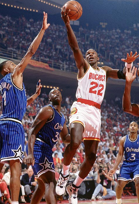 If a sweep of the Magic wasn't enough, the Rockets can take pride in making Shaq cry. O'Neal said later that he cried for only the fourth time in his life after the 4-0 series win gave Houston its second straight title. Not bad for a team that entered the postseason as a No. 6 seed. Hakeem Olajuwon averaged 32 points per game in his hyped matchup with O'Neal.