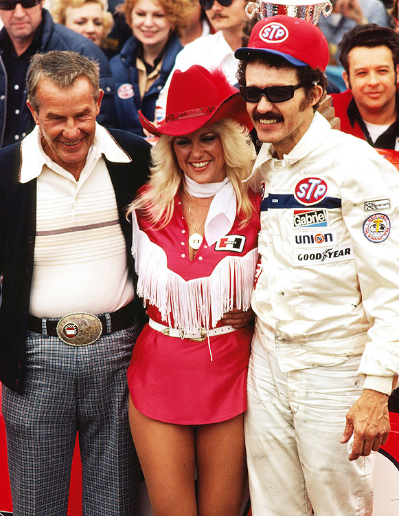 By the end of his 16-year career, Petty had made 427 NASCAR starts, won 54 races and taken the season championship three times. Between 1954 and 1979, Petty Enterprises won 10 championships -- three with Lee and seven with son Richard.