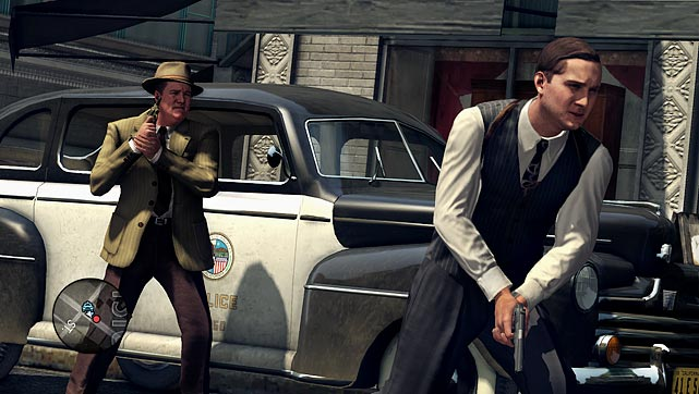 L.A. Noire takes place in Los Angeles in the late 1940s, and immediately puts you in control of Cole Phelps, a war hero who has decided to ply his skills with the LAPD. Cole starts off as a patrolman and works his way up to homicide by solving cases. As a member of the LAPD you'll get to investigate crime scenes, engage in car and foot chases, fight resistant perps and engage in shootouts with criminals.   The game does an amazing job of creating an open and realistic looking Los Angeles, but the real star of the show is the amazing motion capture work that shines whenever you interact with the hundreds of characters in the world.   The core of the game is solving crimes. When you're at a crime scene you'll walk around to find and examine clues. All of that information is logged in your notebook and plays a vital role later on when you're interviewing suspects and other persons of interest.   When you interview people for cases you really have to pay attention not only to what they're saying, but how they're saying it. After listening to an answer you have to decide if the statement was true or if you have doubt or if it's a lie. If you pick the wrong response, the characters clam up and tell you less information. Picking correctly leads to confessions or revelations of additional evidence, locations and suspects. If you accuse someone of lying you have to back it up with a piece of evidence collected from the screen. It's a straightforward dynamic, but it's a ton of fun and it keeps getting harder as you advance.   L.A. Noire is a deep and engaging adventure game that defies traditional categorization as it establishes its own brand of addictive and unique gameplay.     Score: 9.5 out of 10