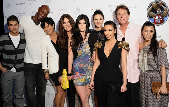 On Wednesday, Kim Kardashian announced that she is engaged to her boyfriend of six months, New Jersey Nets forward Kris Humphries (inset). In honor of the happy couple, here is a closer look at the sometimes intersecting worlds of the Kardashian family and sports.