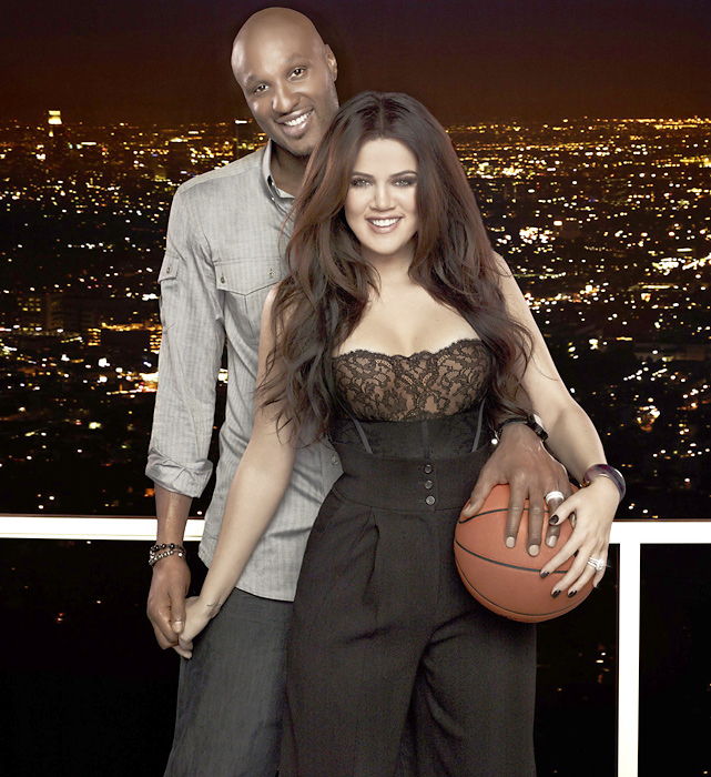 In April 2011, E! launched a reality show called  Khloe and Lamar , which followed the life of the Lakers forward and his celebrity wife.
