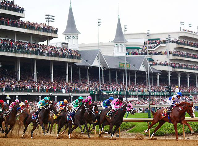 The race was deemed by many to be wide open with no hands-down favorite, though Dialed In went off with the best odds, 5-1. Despite the unaccomplished field, a record crowd of 164,858 watched at Churchill Downs.