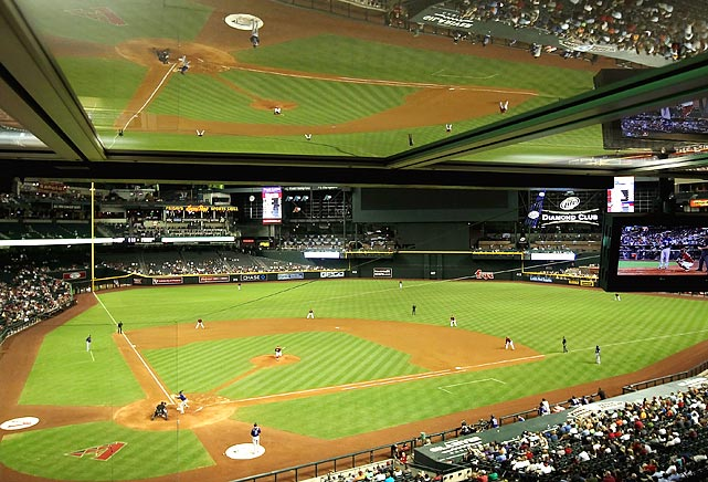 Arizona Diamondbacks fans were subjected to some double vision during the Diamondbacks' 6-4 loss to the Rockies on May 4.
