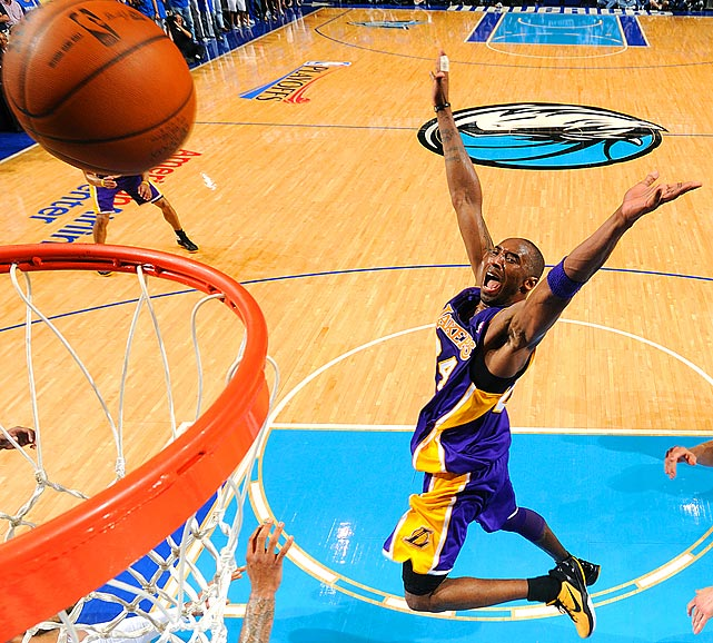 Sometimes, an image says it all. This picture of a flailing Kobe Bryant from Game 4 of the Western Conference semifinals is one such image. The Dallas Mavericks completed their sweep of Bryant and the two-time defending champion Lakers in that game with a 122-86 victory.