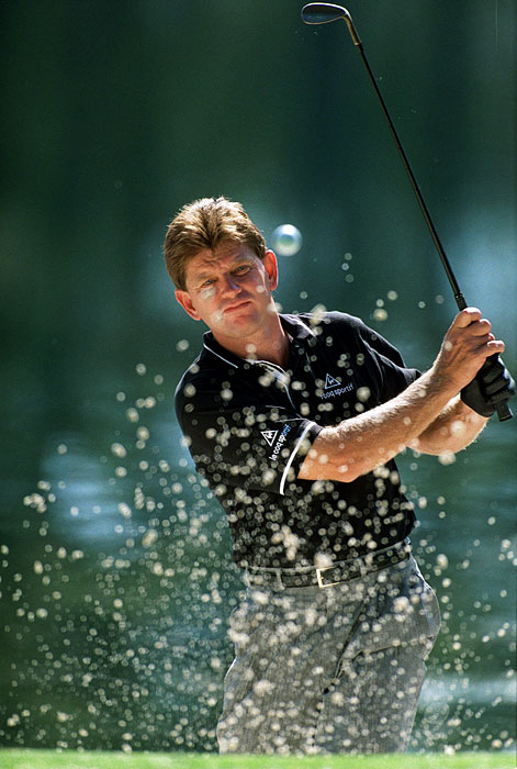 Nick Price birdied the first hole of a sudden-death playoff with Scott Simpson to win the rain-delayed Southwestern Bell Colonial. He won five other times that year and earned his second straight Player of the Year award.