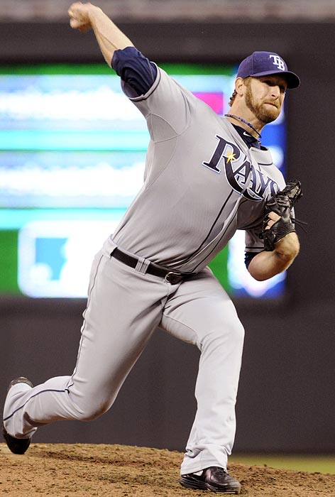Teammate Ben Zobrist stole the headlines during the Rays' doubleheader sweep -- becoming the fourth player ever with seven hits and 10 RBIs on one day -- but Niemann nearly made some history of his own. He carried a no-hitter into the seventh inning of the night cap before allowing a lead-off single to Minnesota's Denard Span.