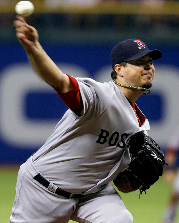 Beckett was a dribbler from being perfect.  The Boston right-hander pitched the first one-hitter of his career, limiting the Tampa Bay Rays to Reid Brignac's third-inning infield single in a 3-0 Red Sox victory.