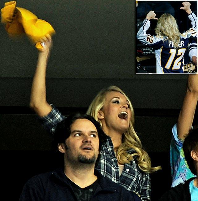 Anaheim Ducks at Nashville Predators Game Three - Western Conference Quarterfinals