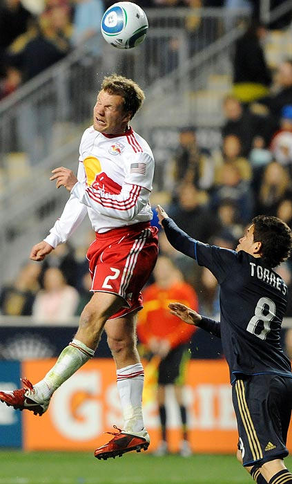 Remember how Joel Lindpere came to Red Bull Arena last year, bringing a professionalism and higher level of awareness to the midfield? Tainio is this year's Lindpere. He is a slightly different player, a poised holding midfielder who can smoothly link the defense and the attack. His defending is consistently smart and tough when it needs to be. Center backs Rafa Marquez and Tim Ream get a lot of credit for New York's league-leading defense, but Tainio's adept screening helps a lot, too.