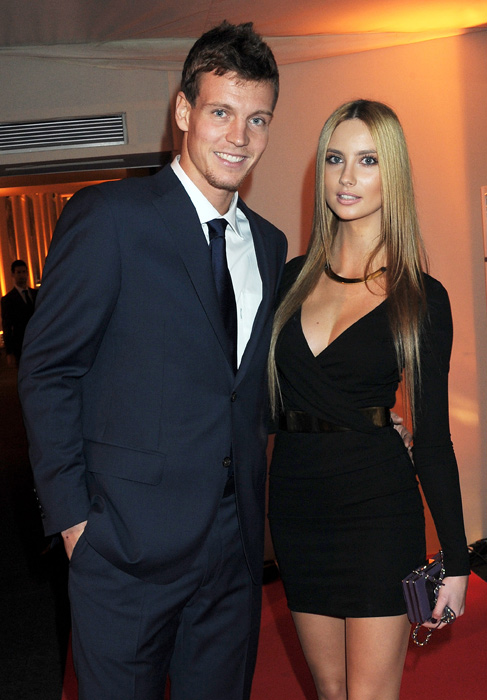 Berdych didn't take long to move on after his almost decade-long romance with fellow tennis player Lucie Safarova ended last summer, beginning dating model Ester Satorova in the fall.