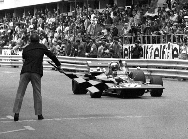 ABC's  Wide World of Sports  celebrated its 50th anniversary last week.  Here is a look at some of the memorable moments from the show's 13-year  run. The Flying Scot wins the Monaco Grand Prix by recording an average speed of 83.49 miles per hour. Stewart won the Formula One world championship that season behind wins in Spain, France and Britain, among others.
