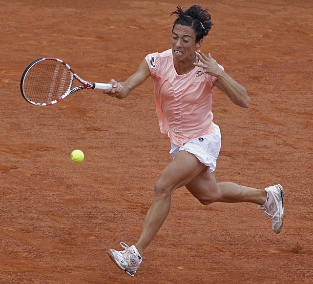 Francesca Schiavone returns against Li Na.