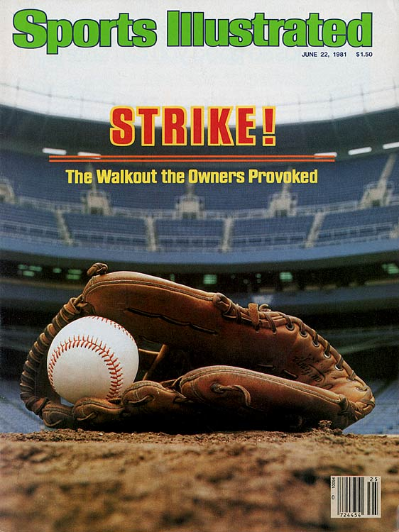 The 1981 MLB strike occurred midway through the season and led to the loss of more than 50 games per team. The players and the owners had fought over whether teams should be awarded compensation for lost free agents, a battle that finally ended with the agreement of partial compensation.