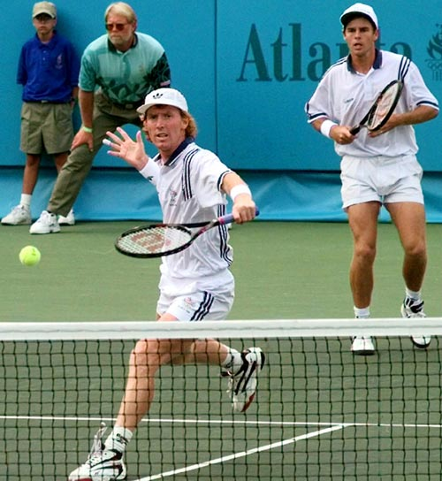 One of the most dominant doubles teams ever, the Australian duo of Todd Woodbridge and Mark Woodforde won 61 tournaments in their careers (a record since broken by the Bryan brothers), including 11 Grand Slam titles and a gold medal at the 1996 Olympics. The tandem also was inducted into the International Tennis Hall of Fame in 2010. Who would you add to the list. Send suggestions to siwriters@simail.com