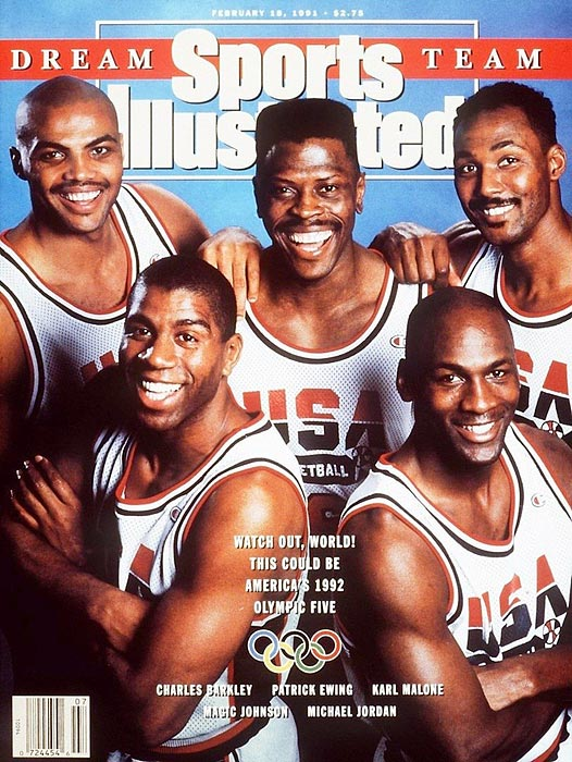 "After a 1989 change in FIBA laws opened the doors for professional basketball players to compete in the Olympics, the ""Dream Team"" was promptly assembled for the 1992 Summer Olympics in Barcelona. Led by Magic Johnson and Larry Bird, the Americans were so dominant that their closest match -- the gold medal final -- was won by 32 points over Croatia."