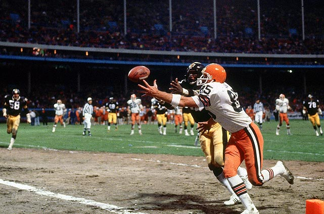 The 1980 Cleveland Browns' heart-stopping season included 12 games decided by a touchdown or less. After a pair of losses to start the season, Cleveland ran off 11 wins in its final 14 games to capture the AFC Central title. Among the wins was a 27-26 comeback victory over Pittsburgh, in which the Browns came back from a 26-14 deficit and the Cleveland defense stopped the Steelers in the final minutes. The team fell 14-12 to Oakland in its first playoff game.