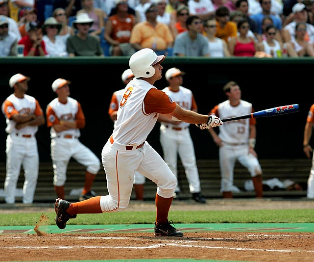 Texas wrapped up its sixth national title in a two-game defeat of Florida. Third baseman David Maroul picked up MOP honors after blasting two home runs in those games, including a three-run smash in Game 2.
