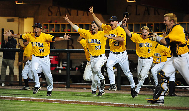 The Golden Bears swept Dallas Baptist on to earn their first College World Series berth in 19 years. Cal's story is unique as the baseball program was nearly cut before the season.