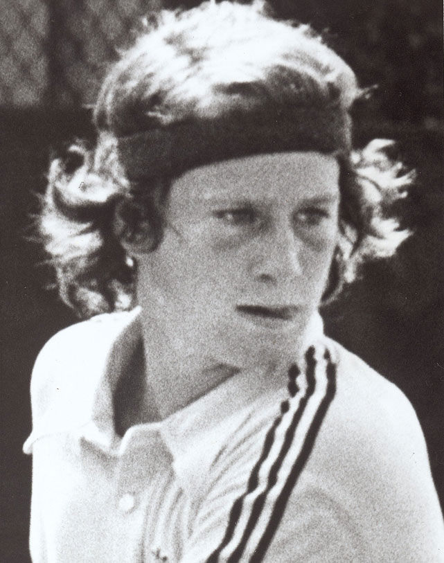 This photo of McEnroe appeared in the Faces In The Crowd section of the Nov. 8, 1976 issue of  Sports Illustrated .