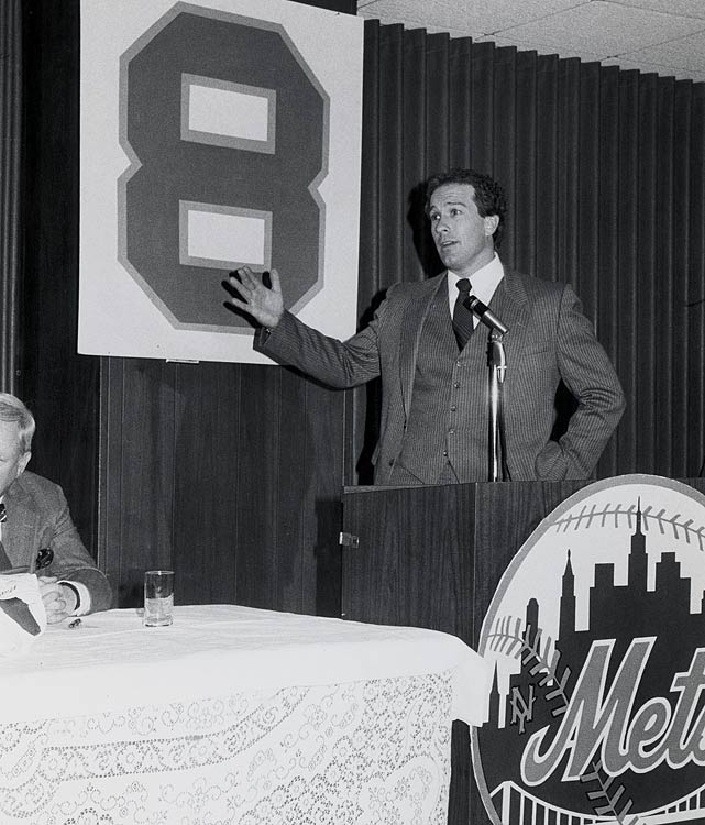 Carter speaks about his decision to be traded to the Mets in December 1984. During his five seasons in New York, Carter hit only .249.