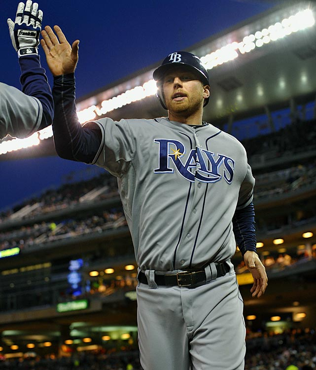 Seven players have hit three home runs in a game this year but no one has had a  day quite like the one Rays second baseman Ben Zobrist enjoyed in a doubleheader against the Twins in late April. Zobrist went four-for-six with two doubles, a home run and eight RBIs in a 15-3 rout in the opener and 3-for-4 with another home run, a double and two more RBIs in the nightcap.