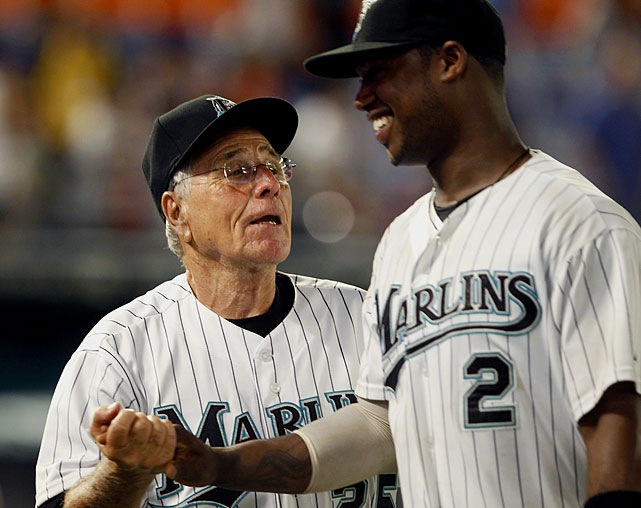 After Marlins manager Edwin Rodriguez resigned amidst a horrific 1-18 start to the month, Florida brought in Jack McKeon to take the helm on June 20. McKeon, at the age of 80 is the second oldest manager in MLB history, and had not managed since he 2005, when his first stint with Florida came to an end.
