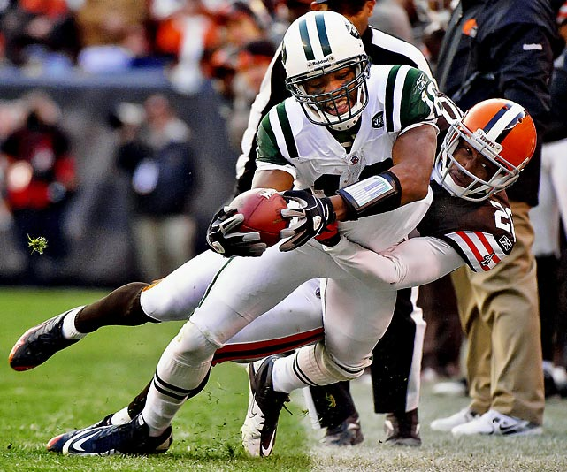 Overshadowed by Braylon Edwards and Santonio Holmes in the Jets lineup, Smith has the potential to pay big dividends.