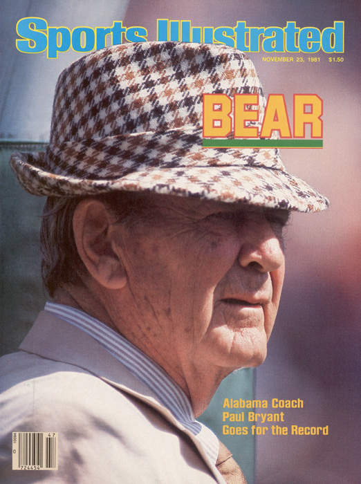 The iconic University of Alabama football coach led the Crimson Tide for 24 years, collecting six national championships along the way. Bryant coached until he was 68, becoming one of the most well known figures in the state. In a cruel twist of irony, Bryant died just weeks after announcing his retirement from coaching.
