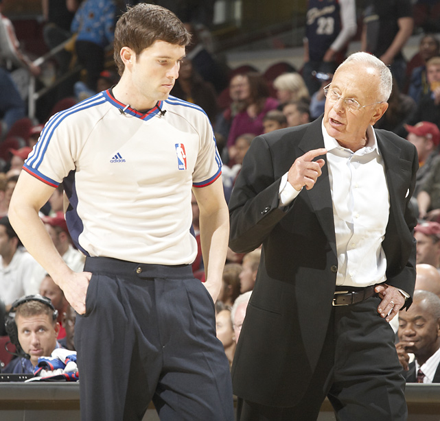 The well-traveled Larry Brown has coached nine NBA teams in his career. His most recent home was Charlotte, coaching the Bobcats for two years. Brown announced his retirement in 2010 at age 70.