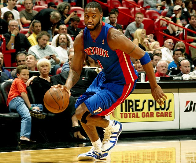 The injury-prone shooting guard made $22,733,124 in the 2009-10 season, finishing the last year of his seven-year, $93 million deal. Because of McGrady's health, the Pistons were the only team willing to give him a shot last year, signing him to a one-year, $1.35 million contract.