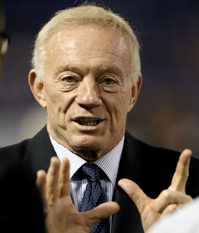 "Arguably the most vocal owner in the NFL, Dallas Cowboys owner Jerry Jones is not afraid to speak his mind. After a 1-7 start to the 2010 season, Jones said, ""There are a lot of people here who are certainly going to suffer and suffer consequences."" The next day, head coach Wade Phillips was fired."