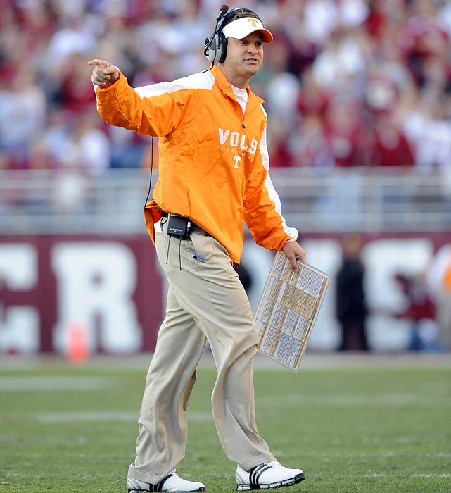 Lane Kiffin signed a four-year contract with Tennesseeto be the head coach of the football team. He only lasted one. After Kiffin announced in 2009 that he would take the coaching job at USC, Tennessee students rioted on campus, lighting mattresses and trash on fire.