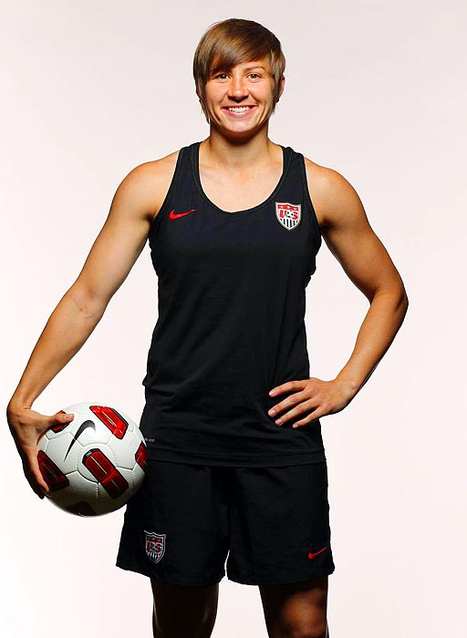 A versatile backliner who can play centrally or on the wings, the Arizona State alumna missed the 2007 World Cup and all of the '08 U.S. campaign with a torn left ACL. LePeilbet has since rebounded strongly, winning WPS Defender of the Year awards in 2009 and '10.
