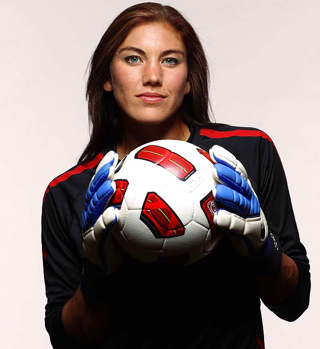 Following a public blowup at the 2007 World Cup, when then coach Greg Ryan benched her for the semifinal match (a 4-0 loss), Solo bounced back at the 2008 Olympics, shutting out Brazil 1--0 in the gold medal game. Now considered the preeminent keeper in the world, Solo remains refreshingly -outspoken -- she was fined by WPS last year after she vented about officiating on her Twitter feed.
