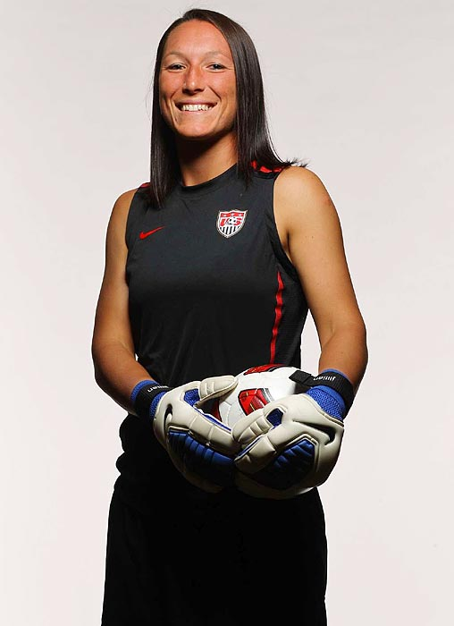 The No. 3 keeper for the U.S., she set school records at Villanova for career wins, shutouts and minutes played. Though Loyden is unlikely to see much time behind Hope Solo and Nicole Barnhart, she provides depth at a position the U.S. considers one of its strongest.