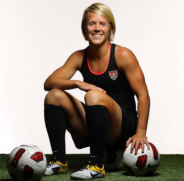 Valued for her passing game, L-Squared earned her first cap in 2005 but waited five years to make her next appearance for the U.S. In 13 games in 2010, including six starts, Lindsey led the team in assists, and she could be a key contributor off the bench in Germany.