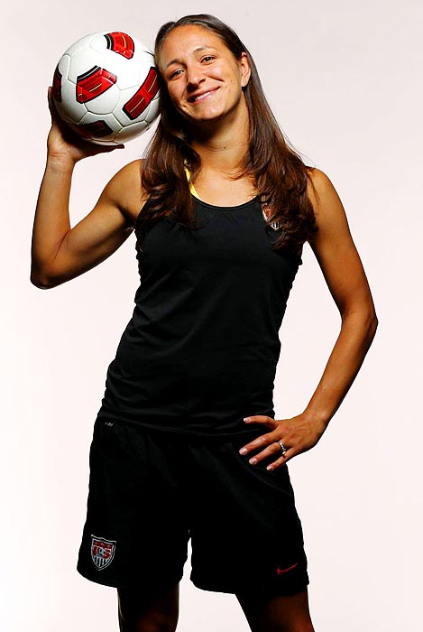 Cox played only once for the national team in 2009 but appeared in nine games and started six in '10. The youngest player on the '07 U.S. World Cup team, she was cut from the '08 Olympic squad but was called back after Cat Whitehill suffered an ACL injury. Now Cox is one of the team's savviest defenders, playing primarily on the left flank.