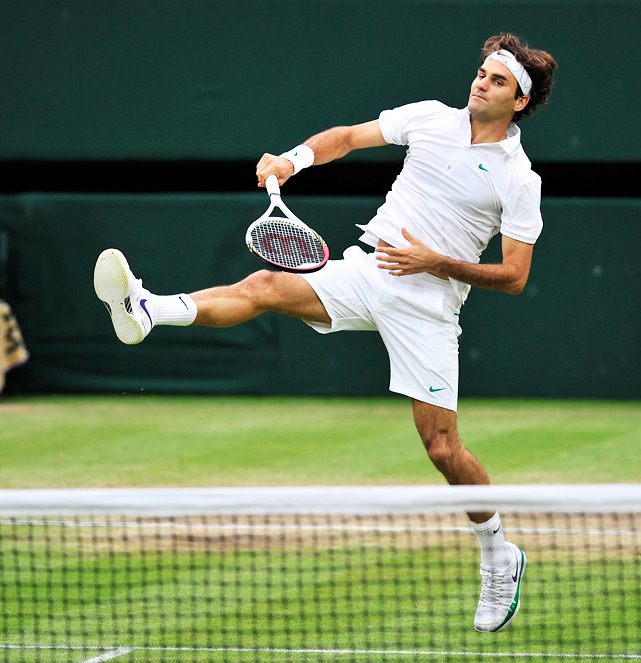 With a win at Wimbledon, Roger Federer reclaimed the ATP's No. 1 spot for the first time in more than two years. In doing so, he matched Pete Sampras' mark of 286 total weeks atop the rankings, and now sits in sole possession of that record. Federer is one of 25 men to hold the top spot since the computer rankings were introduced in 1973. Here's a look at the men who have topped the ATP charts through the years.  Feb. 2, 2004 - Aug. 17, 2008 July 6, 2009 - June 6, 2010 July 9, 2012 - Nov. 5, 2012   Total weeks: 302