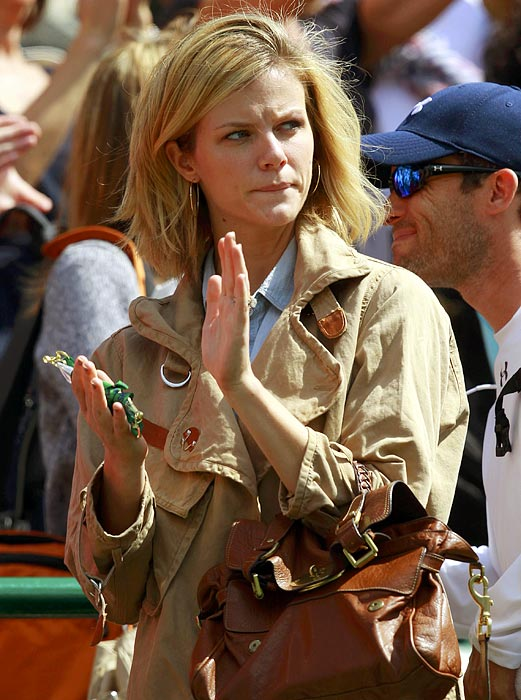 Actress ( Just Go With It ); wife of Andy Roddick